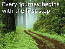 every journey begins with first step
