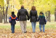 family journey in the fall