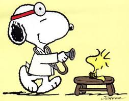 Snoopy doctors woodstock